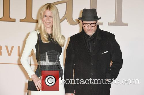Claudia Schiffer and Matthew Vaughn 8