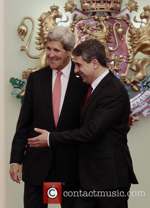 John Kerry and Bulgarian President Rosen Plevneliev 4