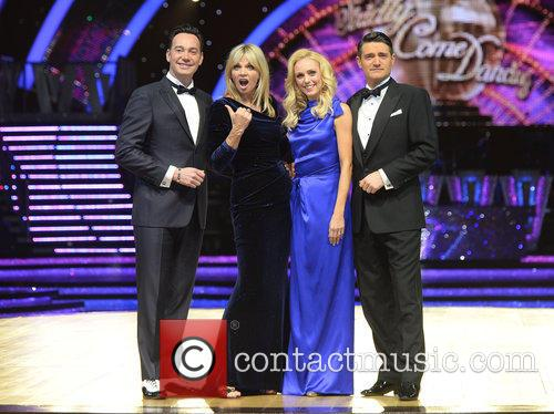 Craig Revel Horwood, Zoe Ball, Camilla Dallerup and Tom Chambers 1