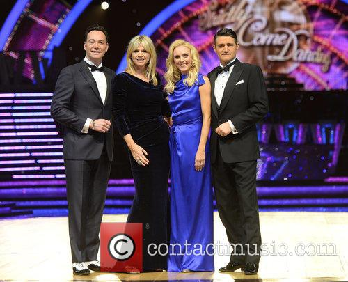 Craig Revel Horwood, Zoe Ball, Camilla Dallerup and Tom Chambers 2