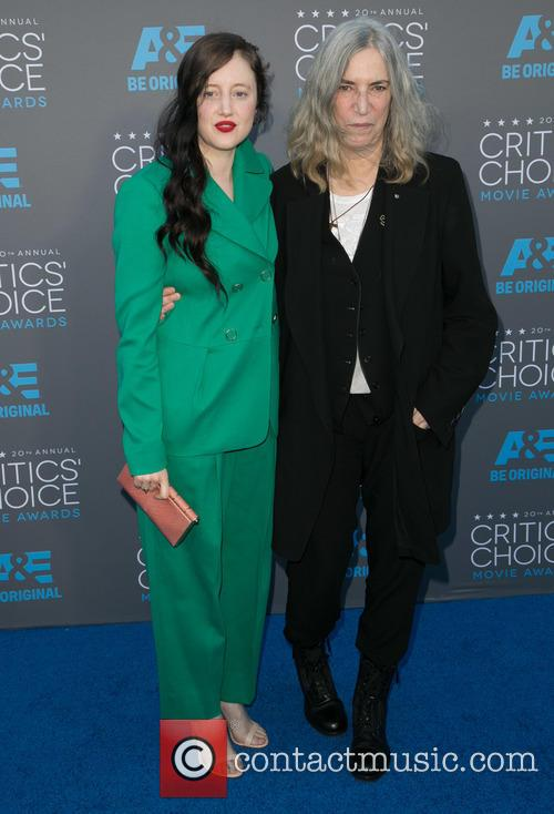 Andrea Riseborough and Patti Smith 1