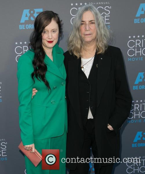 Andrea Riseborough and Patti Smith 4