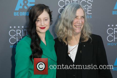 Andrea Riseborough and Patti Smith 5