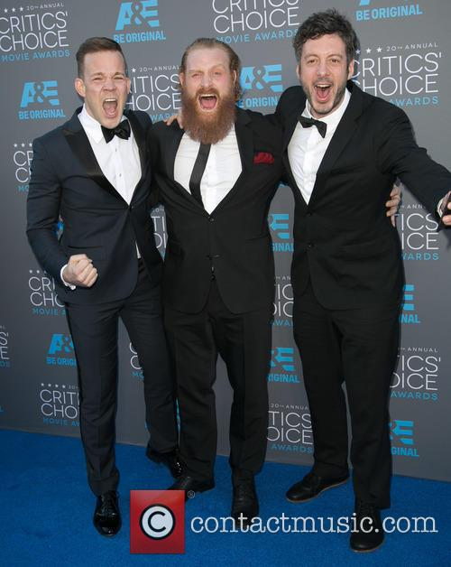 Johannes Kuhnke, Kristofer Hivju and Jacob Schulsinger 2
