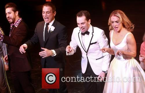 Matthew Saldivar, Tony Danza, Rob Mcclure and Brynn O'malley 5