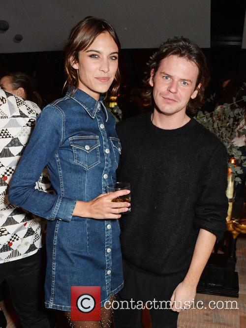 Alexa Chung and Christopher Kane 2