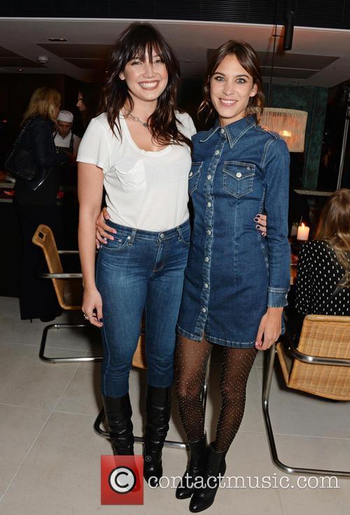 Daisy Lowe and Alexa Chung 3