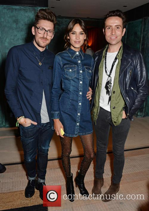 Henry Holland, Alexa Chung and Nick Grimshaw 8