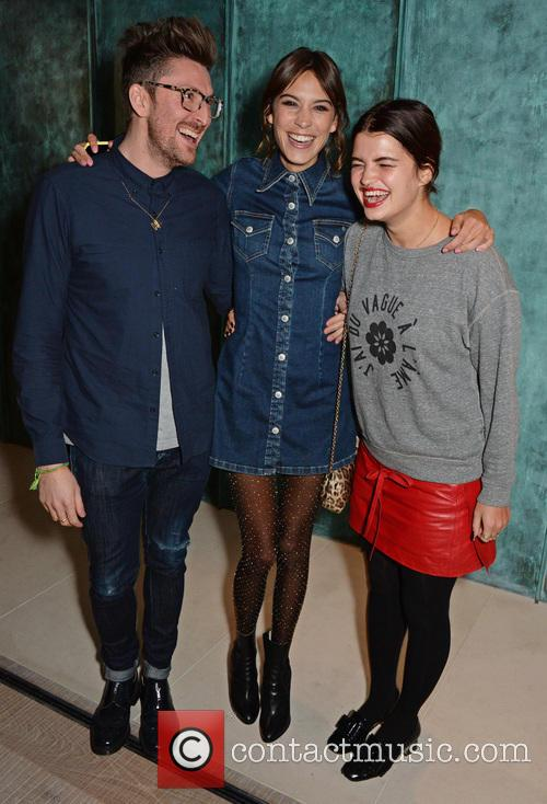 Henry Holland, Alexa Chung and Pixie Geldof 2