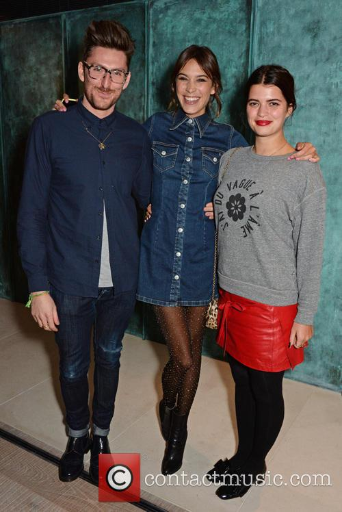 Henry Holland, Alexa Chung and Pixie Geldof 1