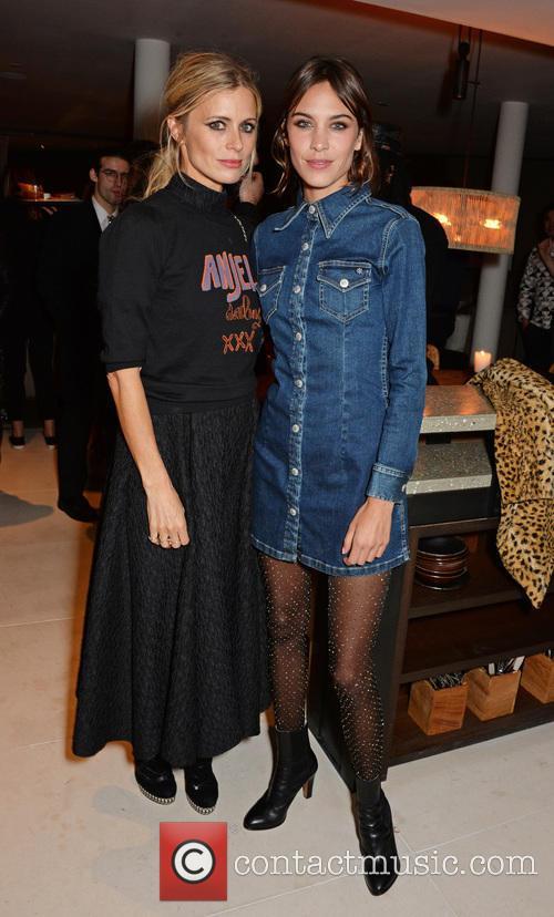 Laura Bailey and Alexa Chung 2