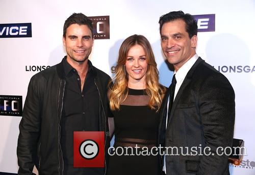 Colin Egglesfield and Ambyr Childers 1