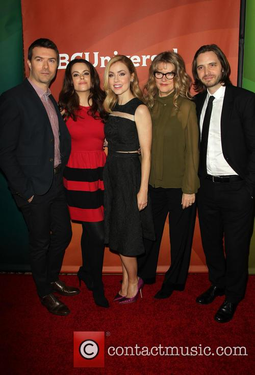 Noah Bean, Emily Hampshire, Amanda Schull, Barbara Sukowa and Aaron Stanford