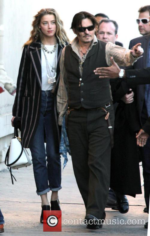 Johnny Depp and Amber Heard 4