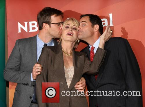 Joanna Cassidy, Sean Kleier and Andy Buckley