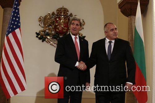 John Kerry and Boiko Borisov