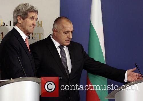 John Kerry and Boiko Borisov 9