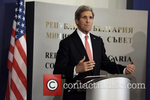 Bulgaria US Secretary of State John Kerry