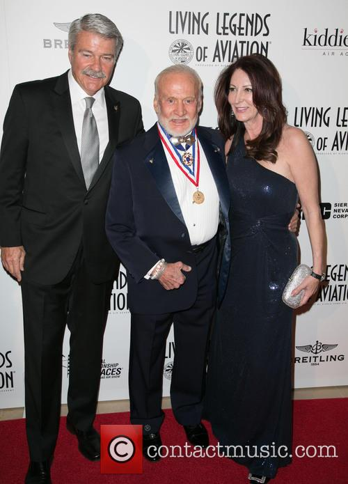 Guests and Buzz Aldrin 5