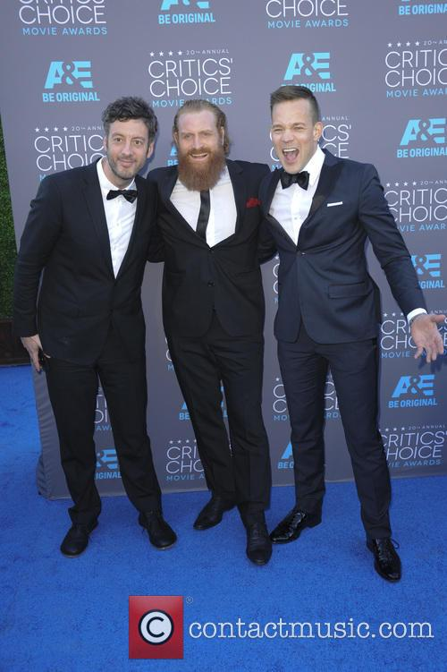 Jacob Secher Schulsinger, Johannes Kuhnke and Kristofer Hivju 5
