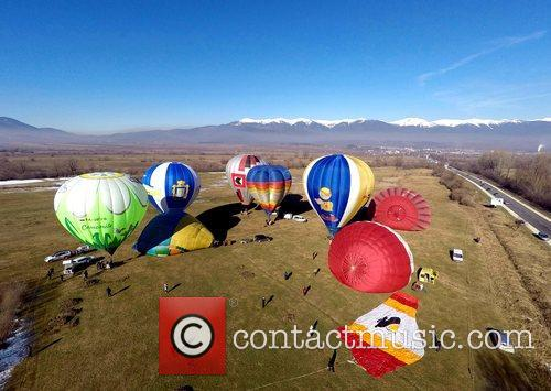 Bulgaria Hot Air Ballons Competition