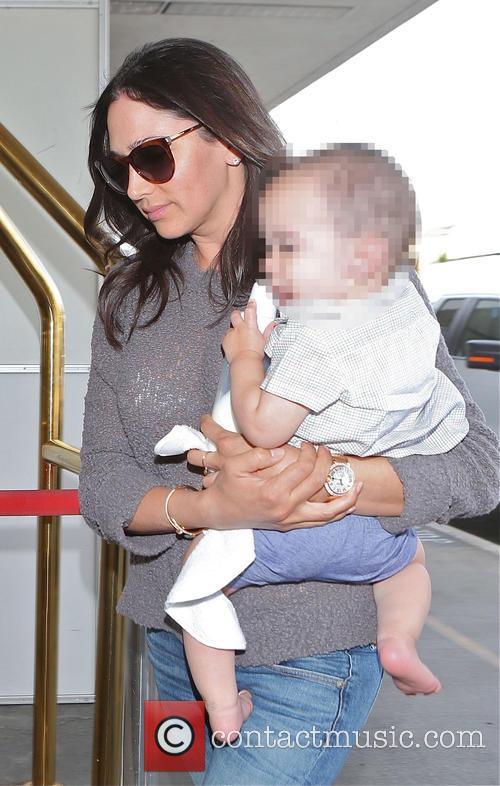 Lauren Silverman departs from Los Angeles International Airport...