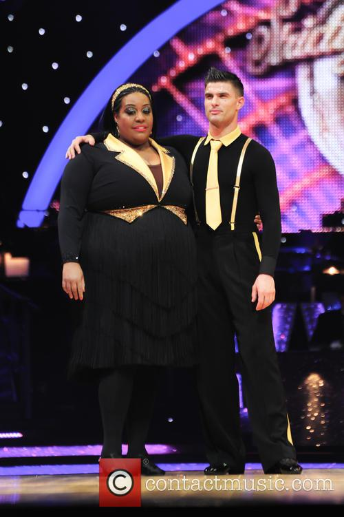 Alison Hammond and Aljaz Skorjanec 2