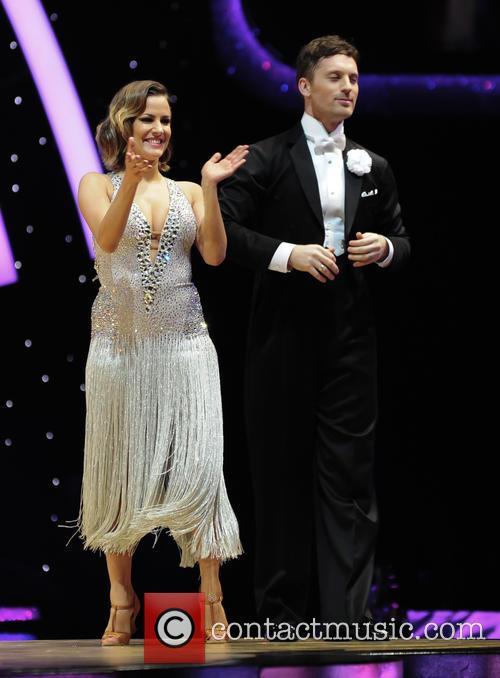 Caroline Flack and Tristan Macmanus 1