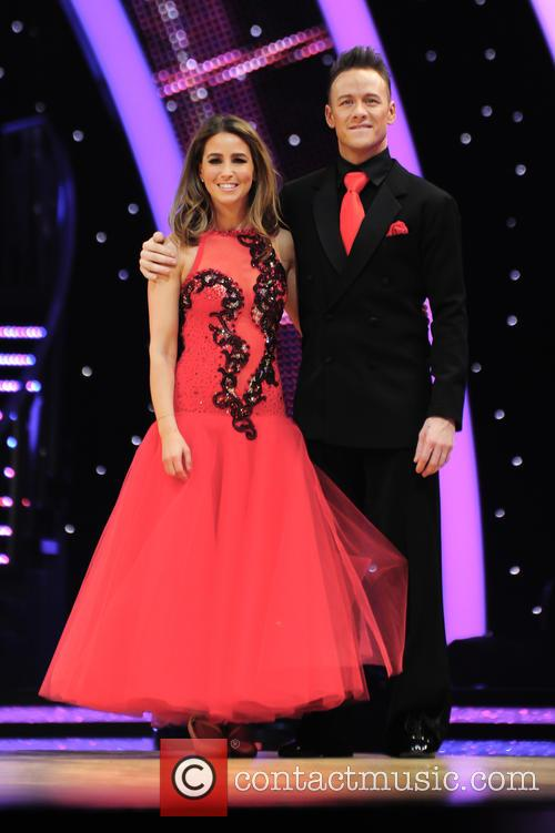 Rachel Stevens and Kevin Clifton 2