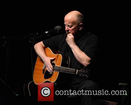 Christy Moore performs at the Bord Gáis Energy...