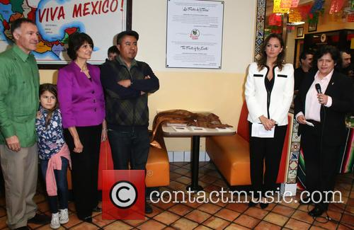 Bonaparte, Lucille Roybal-allard, Karina Macias and Miguel 2