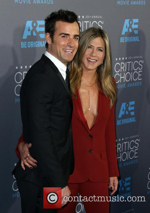 Justin Theroux and Jennifer Aniston 6