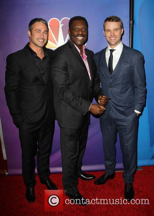 Taylor Kinney, Eamonn Walker and Jesse Spencer