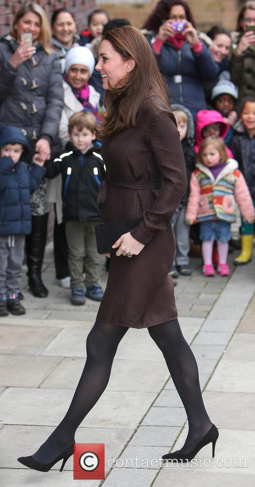 Duchess of Cambridge arrival