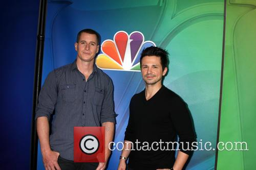 Brendan Fehr and Freddy Rodriguez 1