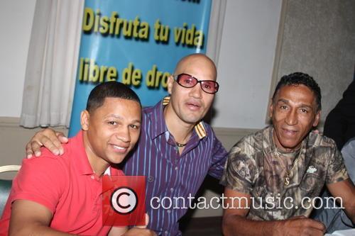 Ivan Calderon, John John Molina and Samuel Serrano 1