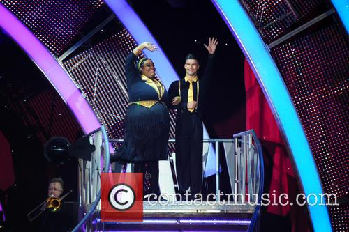Alison Hammond and Aljaz Skorjanec 4