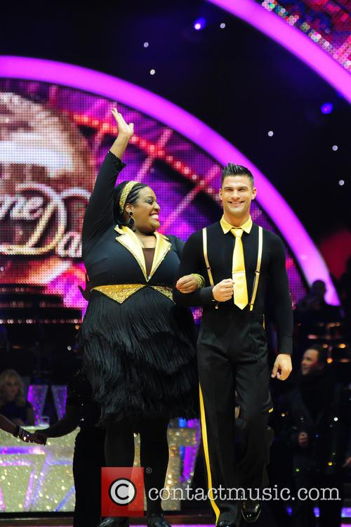 Alison Hammond and Aljaz Skorjanec 6
