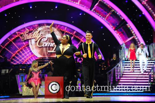 Alison Hammond and Aljaz Skorjanec 1