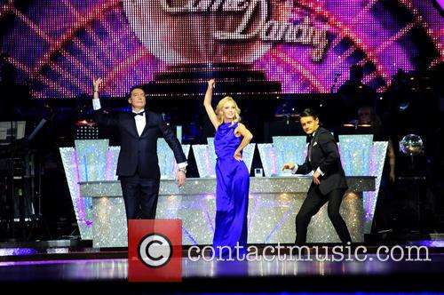 Camilla Dallerup, Tom Chambers and Craig Revel Horwood 2