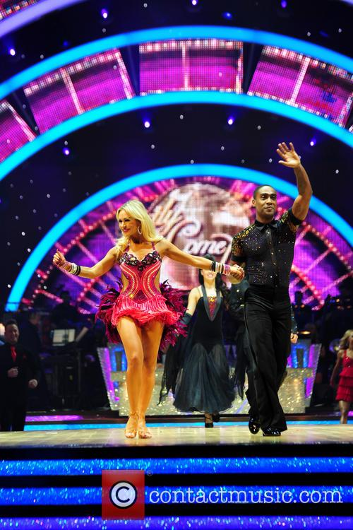 Simon Webbe and Kristina Rihanoff 2