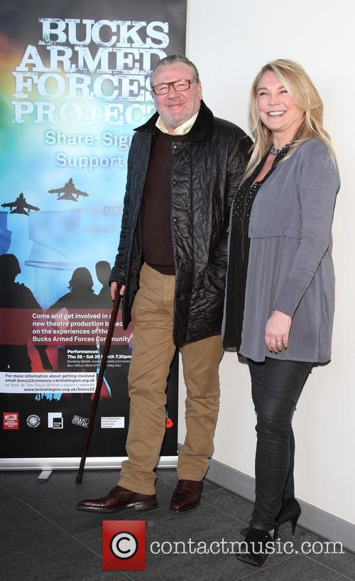 Ray Winstone and Amanda Redman 3
