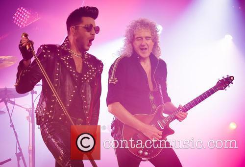 Adam Lambert and Brian May 5