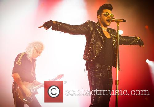 Adam Lambert and Brian May 6