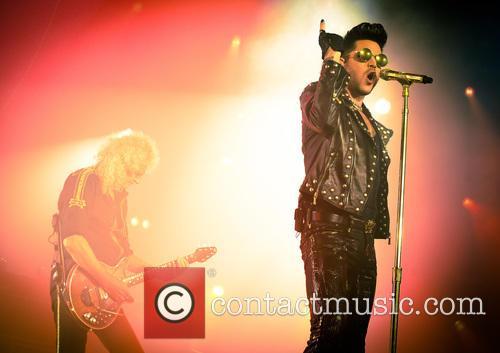 Adam Lambert and Brian May 7
