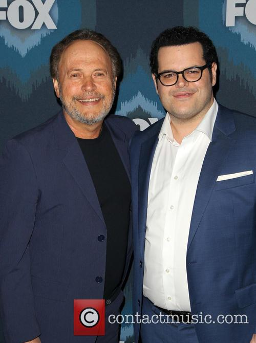 Billy Crystal and Josh Gad 9