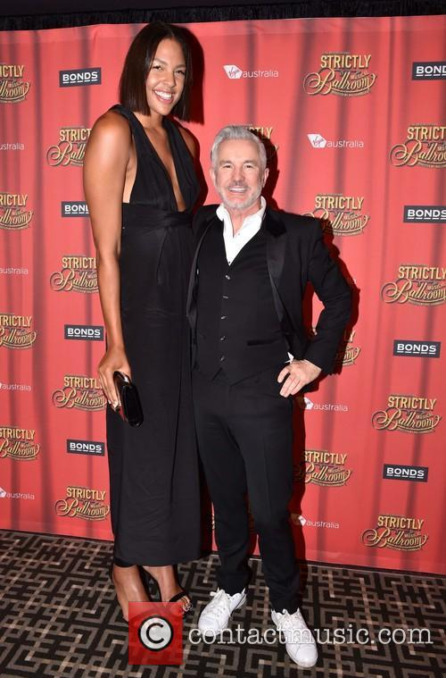 Baz Luhrmann and Liz Cambage