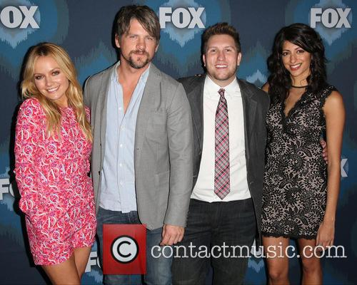 Becki Newton, Zachary Knighton, Nate Torrence and Meera Rohit Kumbhani 6