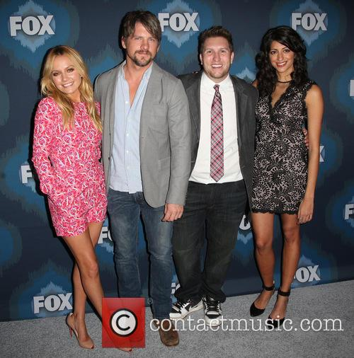 Becki Newton, Zachary Knighton, Nate Torrence and Meera Rohit Kumbhani 1