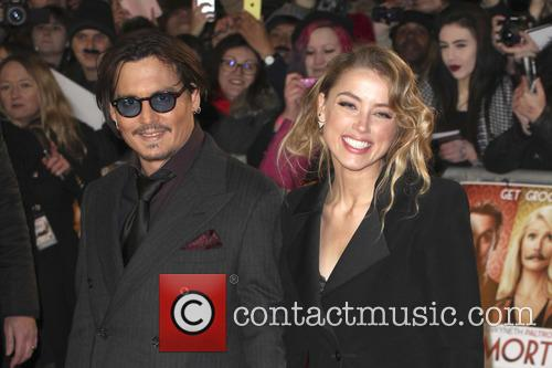 Amber Heard and Johnny Depp 2